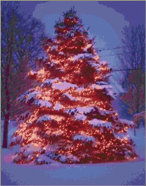 Christmas Tree 35 1293 X Stitch 10 Free Patterns Online