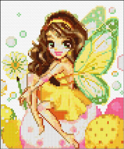 Shinysun's Cross Stitching - Unique Cross Stitch Patterns - Fairy