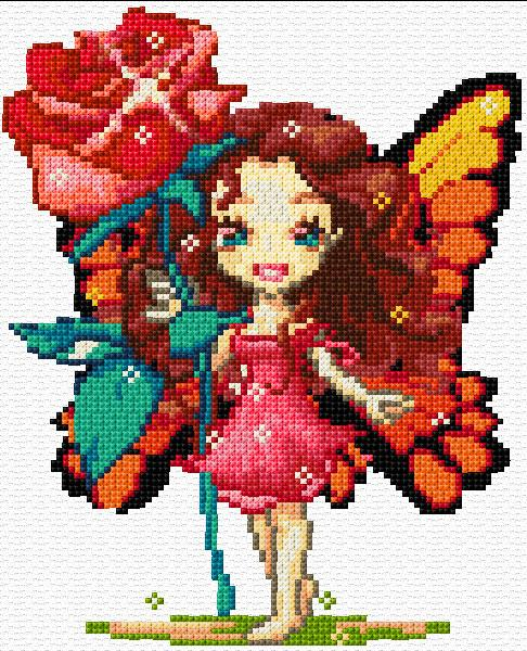 Fairies - Cross Stitch Patterns & Kits