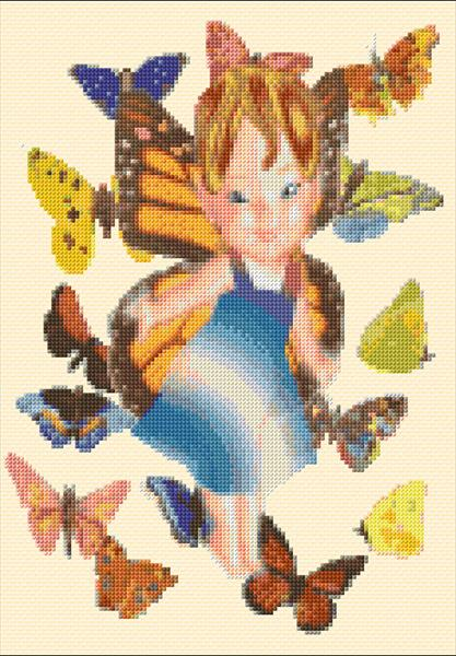 Fairy of the Butterflies