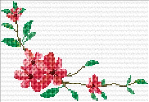 Flowers Corner Ann's CrossStitch Patterns Gorgeous Cross Stitch Flower Patterns