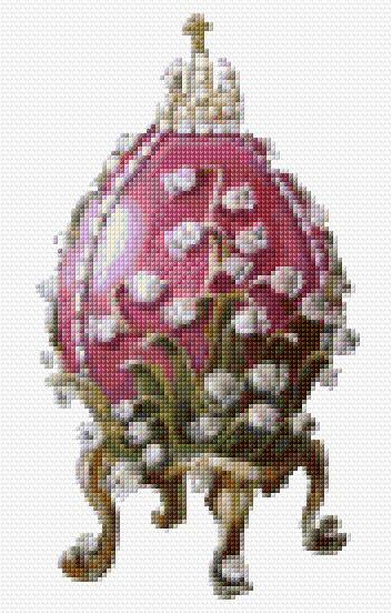 Lily of the Valey Faberge Egg