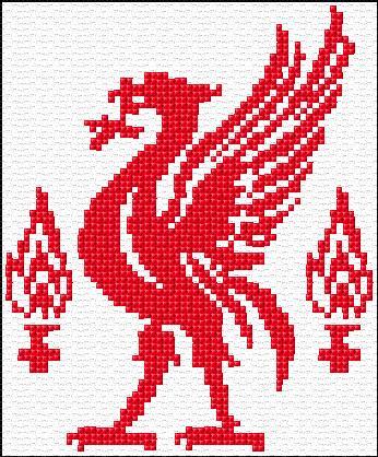 Liverpool Logo 14 1362 X Stitch 10 Free Patterns Online