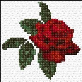 рози за бродиране