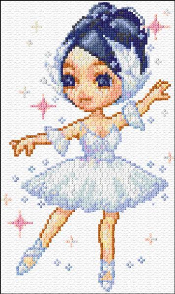 Small Ballerina 27 1012 X Stitch 10 Free Patterns Online