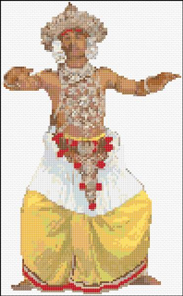 Sri Lankan Kandian Dancer