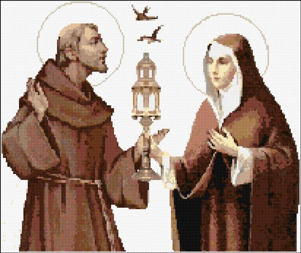 Sts. Francis And Clare Of Assisi