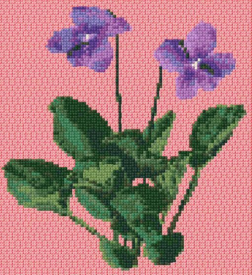 Violette ann s cross stitch patterns