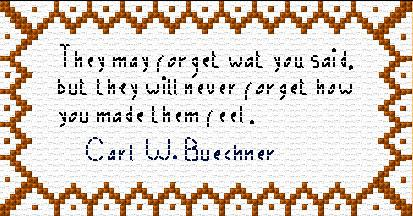 Carl W. Buechner Quote